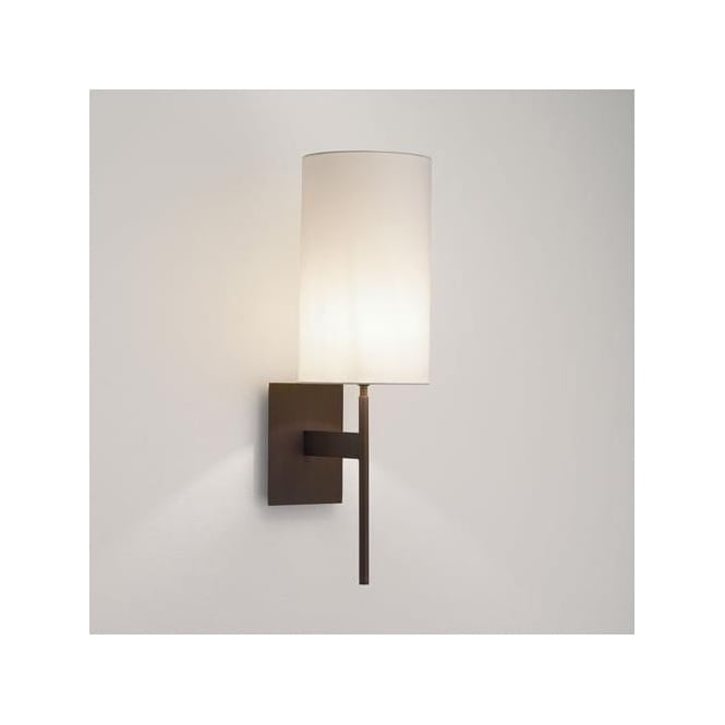 Astro Lighting 0940 San Marino Solo Wall Light In Bronze: San Marino Solo Wall Light