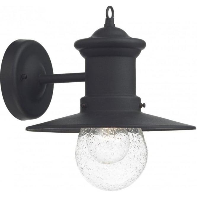 Sed1522 black outdoor wall light dar sedgewick ip44 wall light sed1522 sedgewick 1 light outdoor wall light black ip44 aloadofball Choice Image