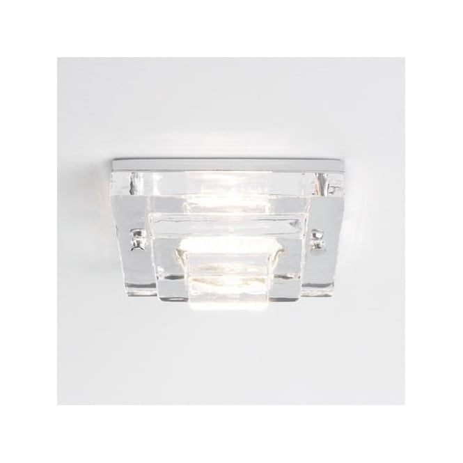 Astro 5502 Frascati Square Mains Voltage IP65 Downlight Polished Chrome