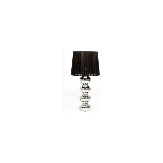 Annaghmore 06839 Harlem 1 Light Table Lamp Polished Chrome