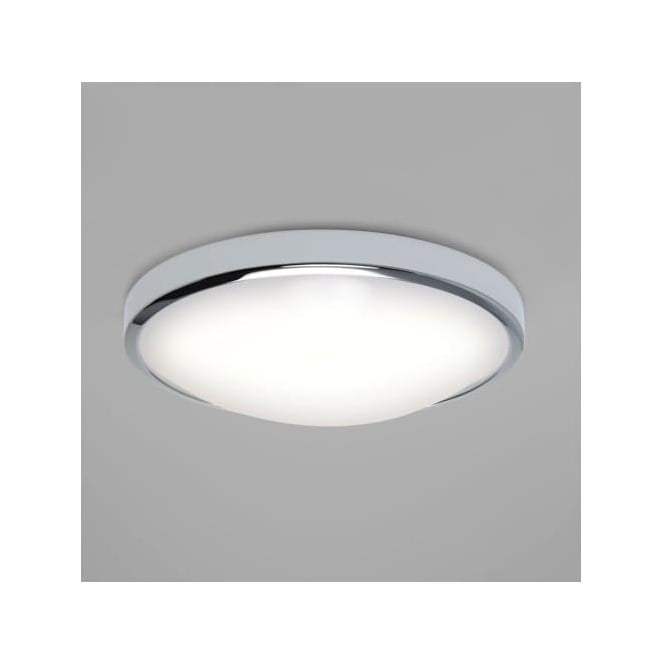 Astro 7411 Osaka LED Sensor Flush Ceiling Light IP44 Polished Chrome