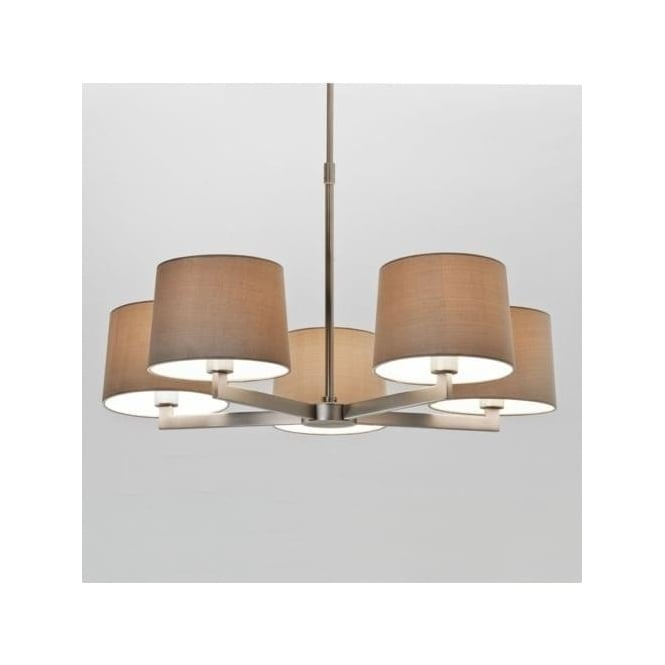 Astro 7087 Martina 5 Ceiling Light Matt Nickel