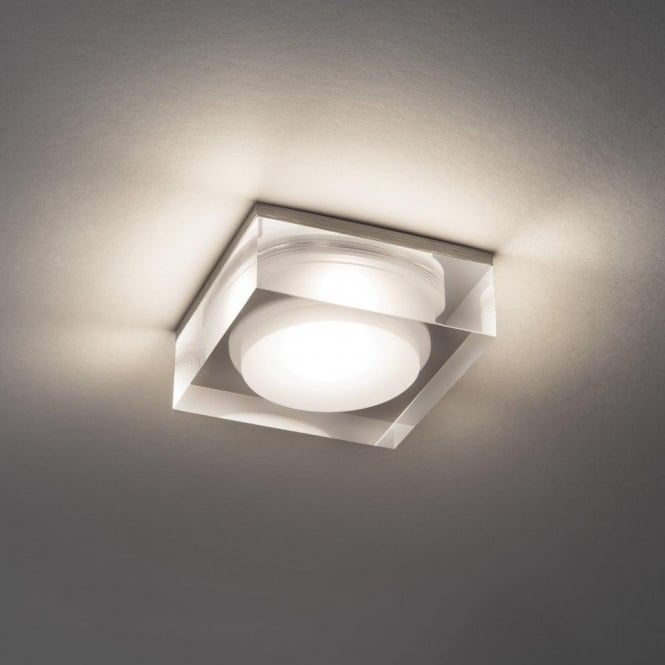 Astro 5698 Vancouver Square 90 1 Light LED IP44 Downlight Polished Chrome