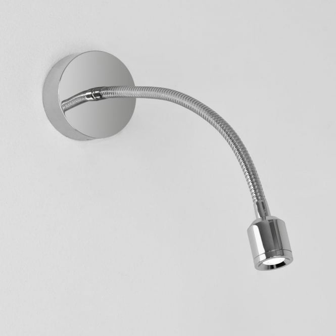Astro 0630 Fosso Surfaced 1 Light LED Wall Light Polished Chrome