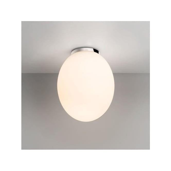 Astro 7594 Cortona 240 Semi-flush Ceiling Light White Glass IP44