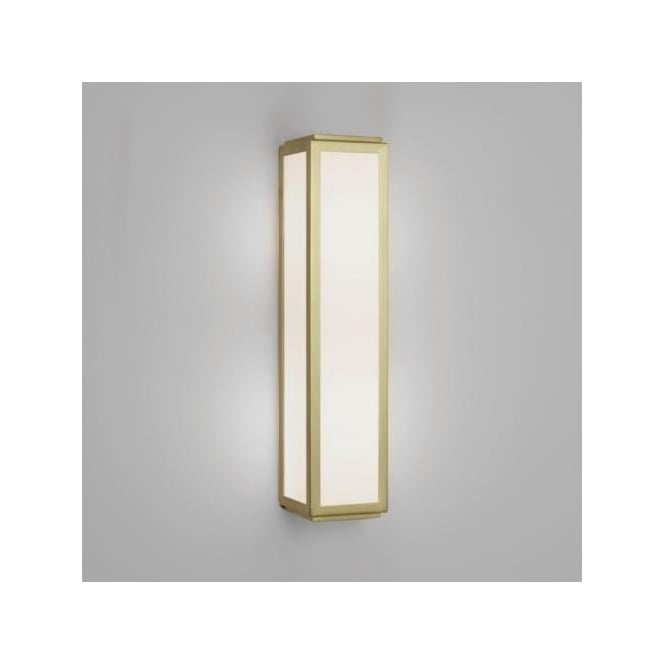 Astro 7801 mashiko classic 360 bathroom wall light ip44 for Gold bathroom wall lights