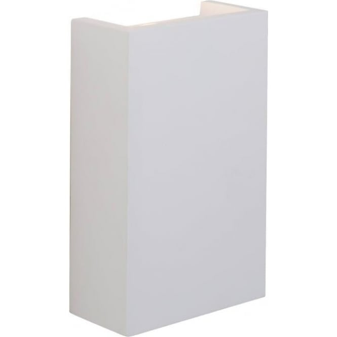 Endon 61635 Mornington 2 Light LED Wall Light Plaster