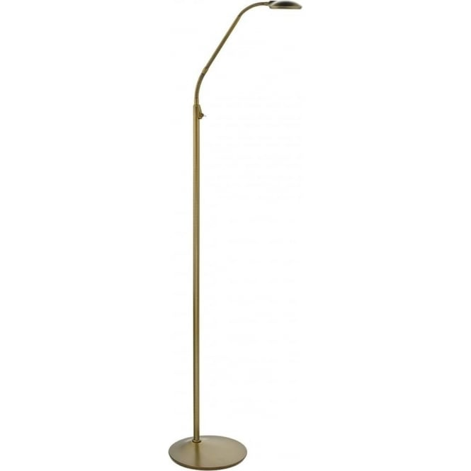 Dar WEL4963 Wellington LED Floor Lamp Bronze