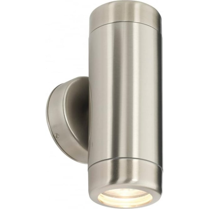 Endon 14015 atlantis 2 light outdoor wall light marine grade endon 14015 atlantis 2 light outdoor wall light marine grade stainless steel ip65 mozeypictures Image collections