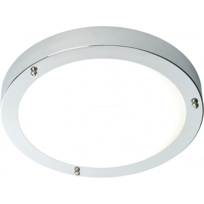 Endon 59850 Portico Flush Ceiling Chrome IP44