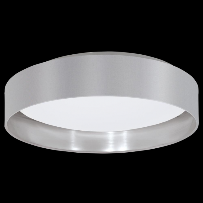 Eglo 31623 Maserlo LED Ceiling Light Glossy Grey
