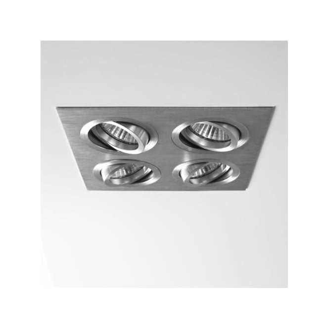 Astro 5664 Taro Quad Adjustable Downlights Brushed Aluminium