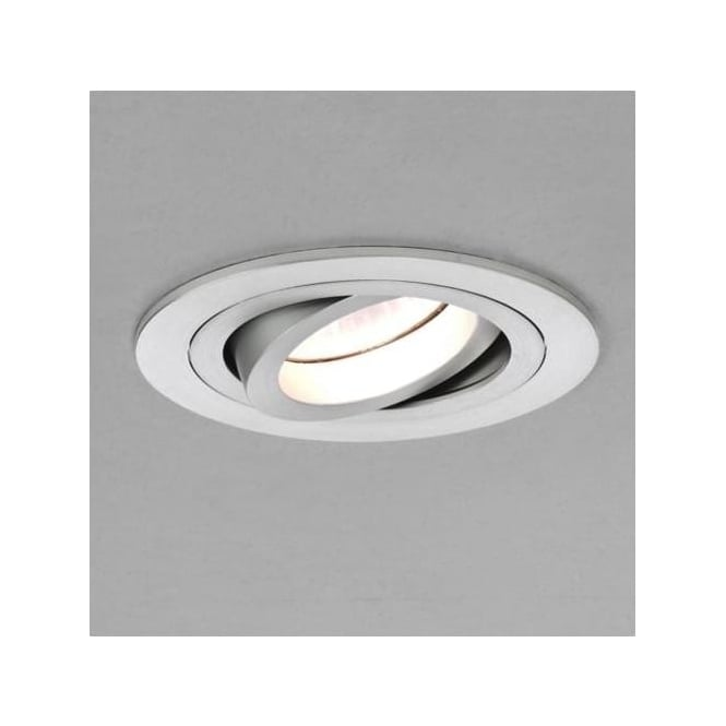 Astro 5574 Taro Round Adjustable Low Voltage Interior Downlight Brushed Aluminium
