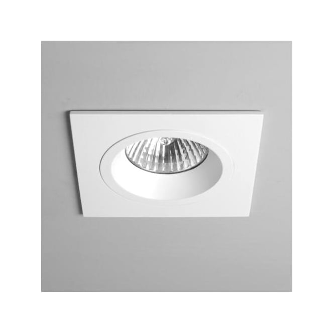 Astro 5674 Taro Square Fire Resistant Fixed Interior Down Light White