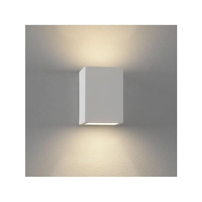 mosto 1 light updown wall light plaster