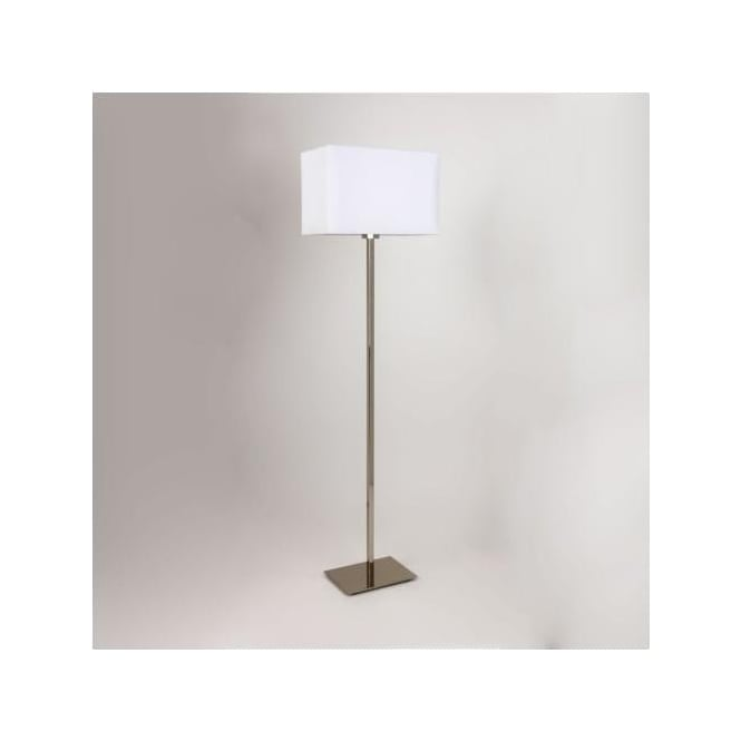 Astro 4507 Park Lane Floor Lamp Polished Nickel with Shade