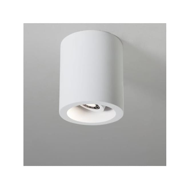 Astro 5685 Osca 140 Round Adjustable GU10 LED Plaster Finish