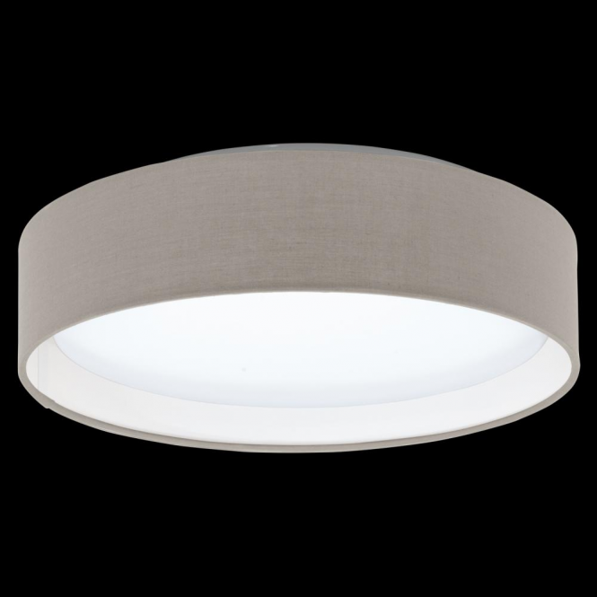 Eglo 31589 Pasteri LED Ceiling Light Taupe