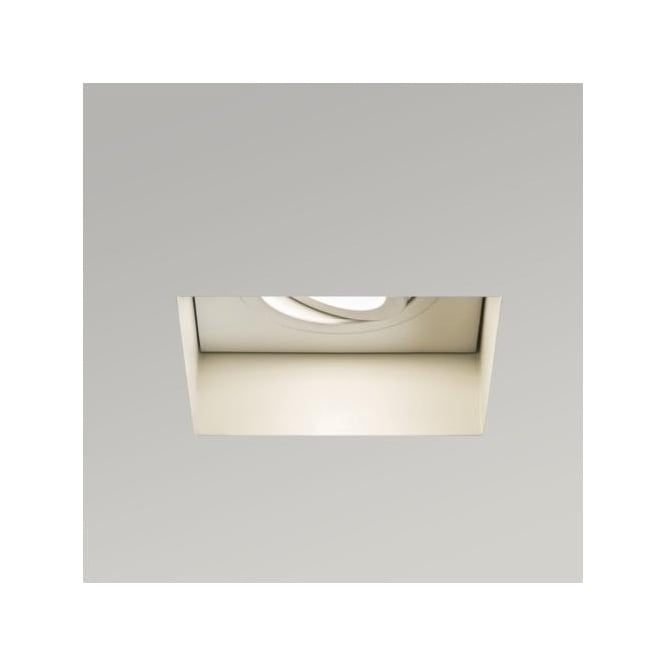 Astro 5680 Trimless Square 230v Fire Rated Adjustable Recessed Downlight
