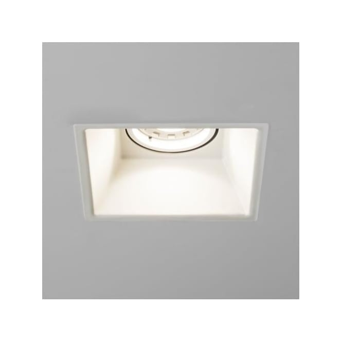 Astro 5738 Minima Square Fixed Mains Downlight White