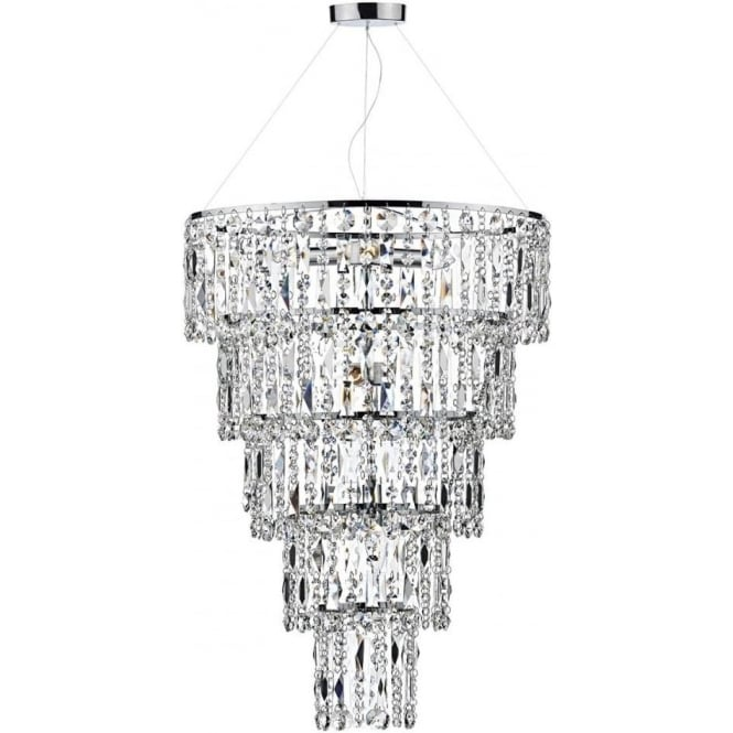 pendant lighting crystal. esc0650 escala 6 light crystal pendant polished chrome lighting a