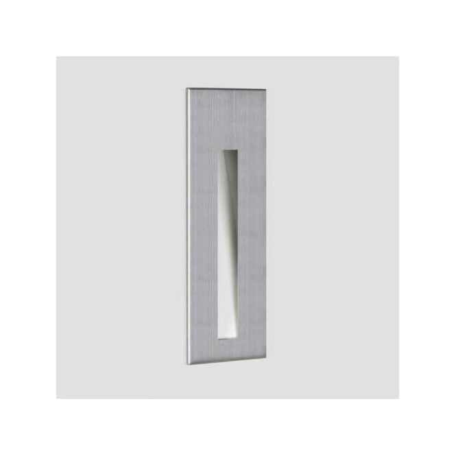 Astro 7481 borgo 43 recessed led wall light brushed stainless steel 7481 borgo 43 recessed led wall light brushed stainless steel ip65 aloadofball Images