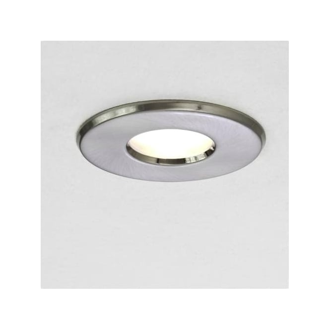 Astro 5660 Kamo 1 Light Mains Voltage IP65 Downlight Brushed Nickel