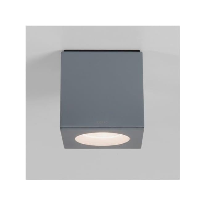 Astro 7509 Kos Square 1 Light Downlight IP65 Painted Silver
