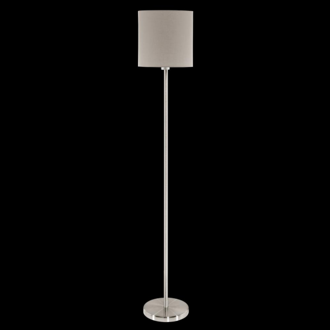 Eglo 95167 Pasteri 1 Light Floor Lamp Taupe