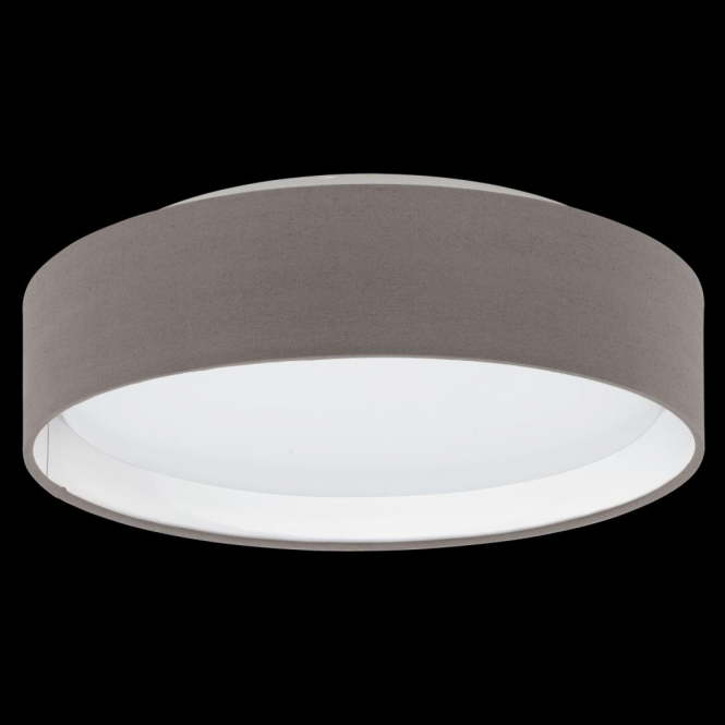 Eglo 31593 Pasteri LED Ceiling Light Anthracite/Brown
