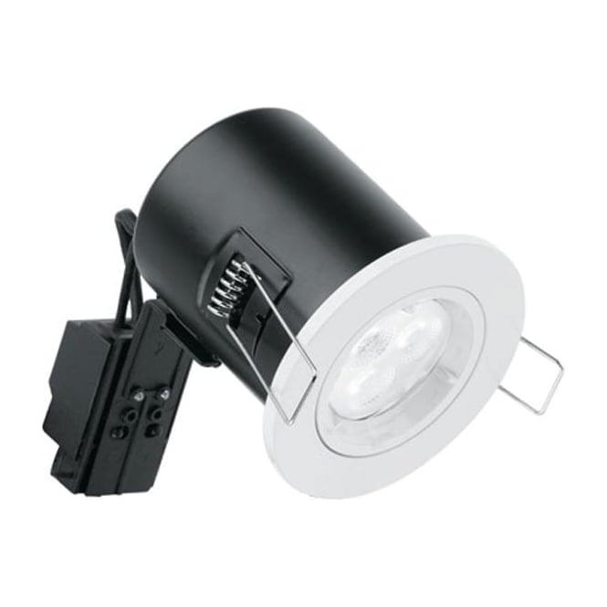 Enlite EN-FD101 Mains Voltage GU10 Fixed Fire Rated Downlight