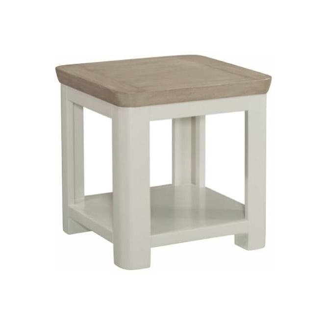 Annaghmore 10515 Treviso Painted Oak Lamp Table Stone Painted