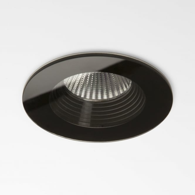 Astro 5734 Vetro Round Fire-rated LED Downlight IP65 Black