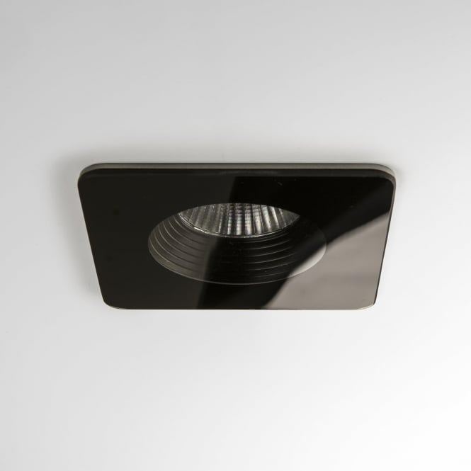 Astro 5732 Vetro Square Fire-rated LED Downlight IP65 Black