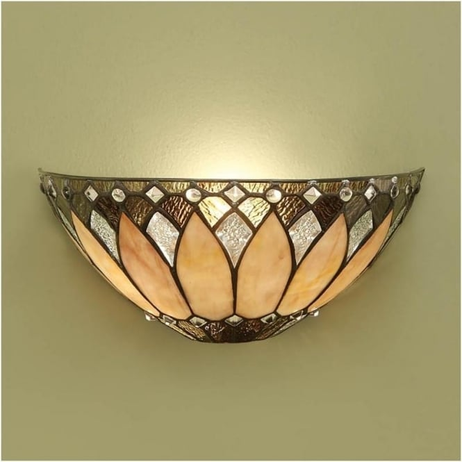 Interiors 1900 63983 Brooklyn 1 Light Tiffany Wall Light
