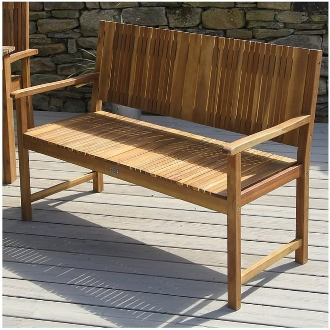 Fairhaven Acacia Wood Bench