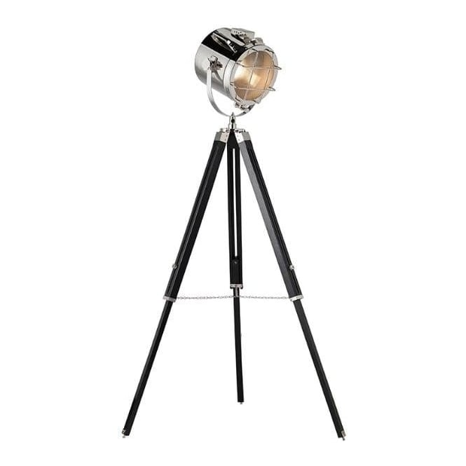 Endon EH-NAUTICAL Nautical Tripod Floor Lamp Black