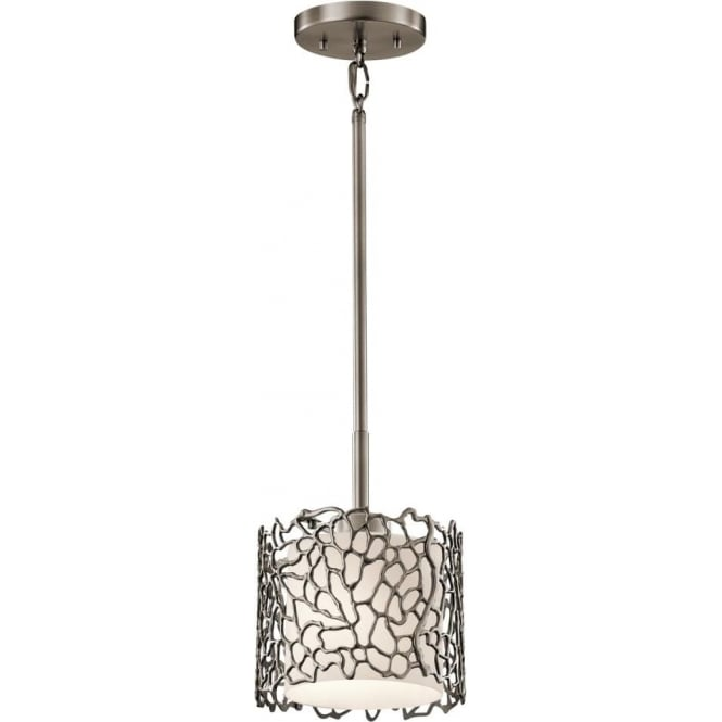 KL/SILCORAL/MP Kichler Silver Coral Pewter Ceiling Pendant