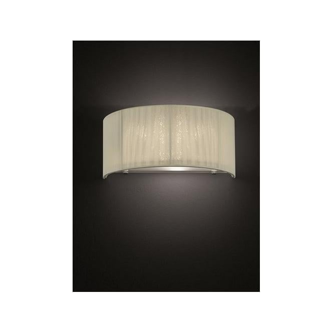 Franklite FL2341/1 Desire 1 Light Wall Light Cream