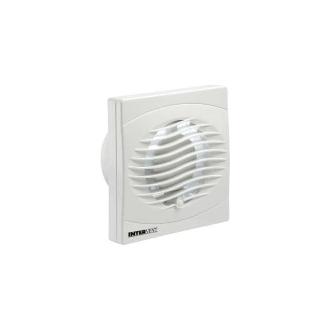 Manrose BVF100T Bathroom/Shower/Toilet Timer Extractor Fan 100mm White Finish