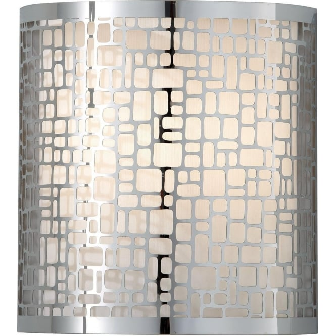 Elstead Fiess FE/JOPLIN1 Joplin 1 Light Wall Light Polished Chrome