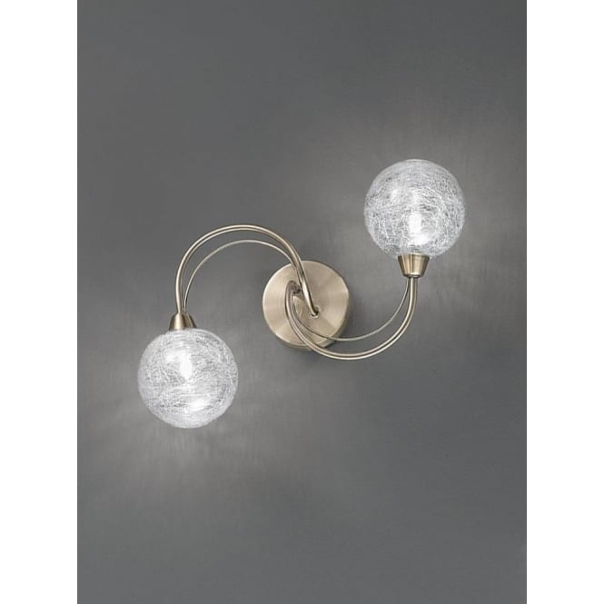 Franklite FL2328/2 Gyro 2 Light Ceiling/Wall Light Bronze