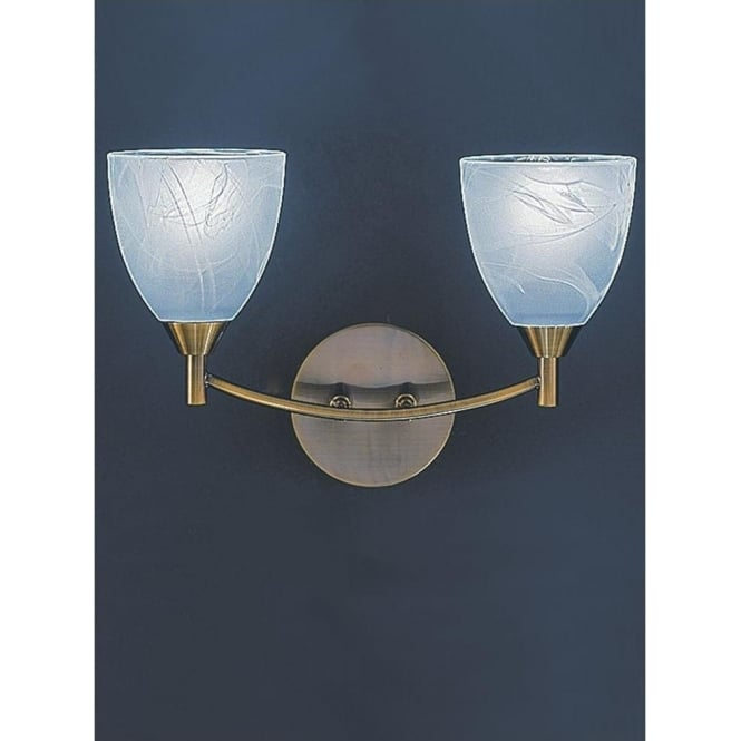 Franklite FL2105/2 Emmy 2 Light Wall Light Bronze