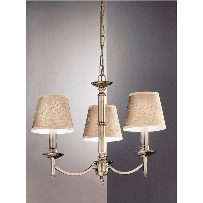 Franklite FL2091/3 Petrushka 3 Light Ceiling Light Bronze