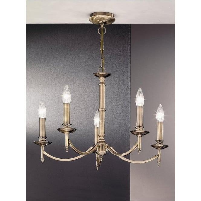 Franklite FL2091/5 Petrushka 5 Light Ceiling Light Bronze