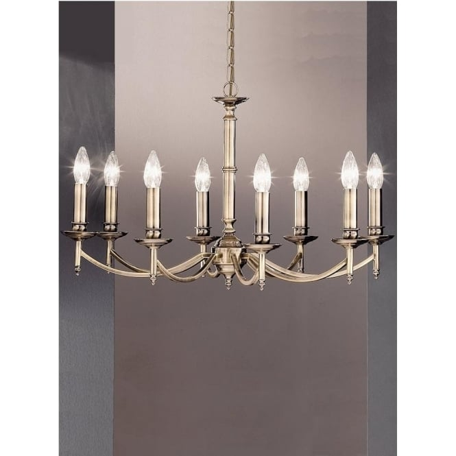 Franklite FL2091/8 Petrushka 8 Light Ceiling Light Bronze