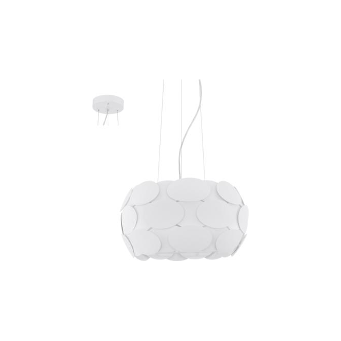 Eglo 92756 Montorio 3 Light Ceiling Pendant White