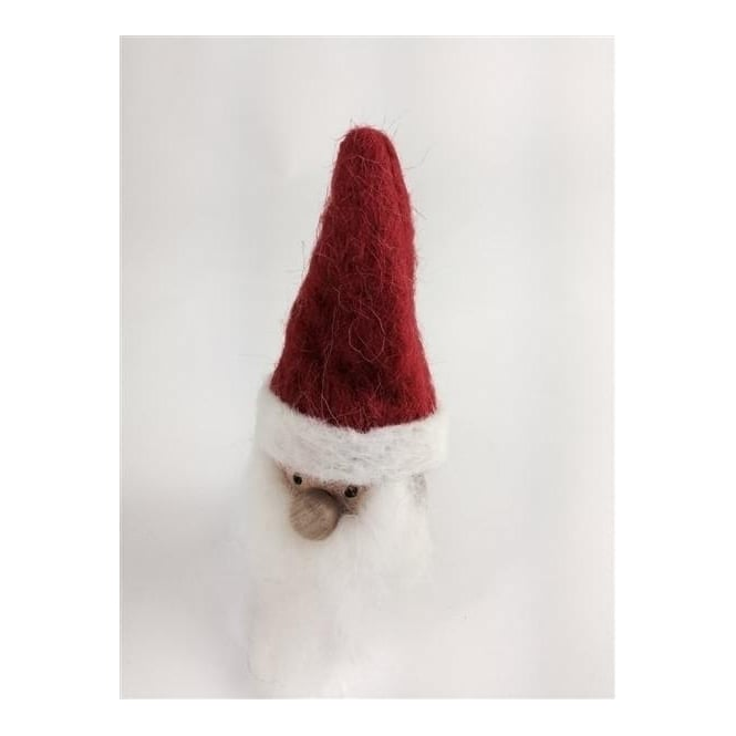 Shoeless Joe 5635 Christmas Scandi Santa Small
