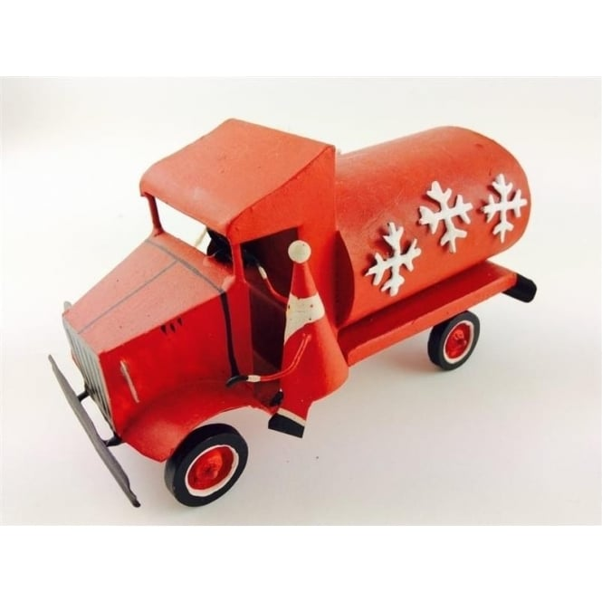 Shoeless Joe 5181 Santa in a Red Truck