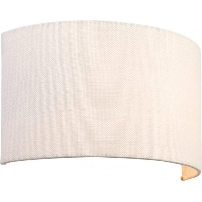 Endon 70334 Obi 1 Light Wall Light White